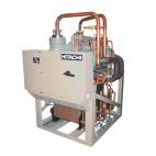 Klimatizace Hitachi Brno - Kompresorová chladicí jednotka HITACHI RCUE40WG2-240WG2 (R407C), 134 kW-696 kw