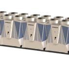 Klimatizace Hitachi Brno - Kompaktní modulová kompresorová chladicí jednotka HITACHI SAMURAI RCME 560, 1400 kW