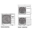 Klimatizace Hitachi Brno, Multisplit - Venkovní jednotky HITACHI RAM