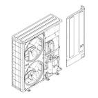 Klimatizace Hitachi, tepelné čerpadlo YUTAKI-M - Modul schéma