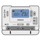 Klimatizace Hitachi, tepelné čerpadlo YUTAKI-M - Dálkový ovladač